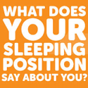 Sleeping Positions Meaning